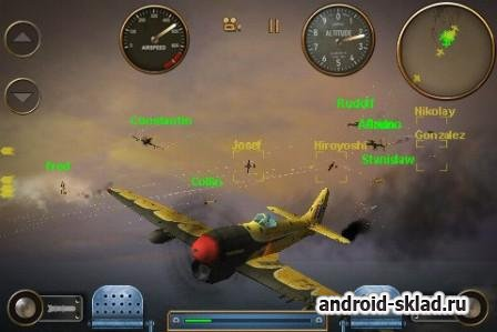Skies of Glory - RELOADED - воздушные бои на Android