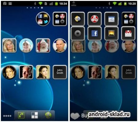 Animated Widget Contact Pro - ������ ��������� ��� Android