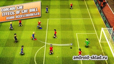 Striker Soccer London - мировой футбол для Android