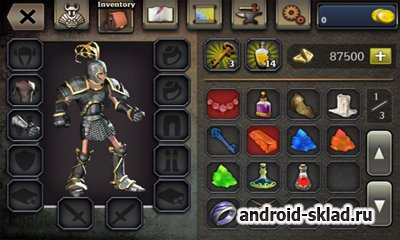 Quests & sorsery - Skyfall - мистические бои для Android