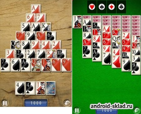 Solitaire Deluxe - пасьянс для Android