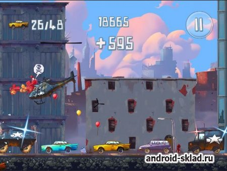 Demolition Dash - платформер с маленькими монстрами для Android