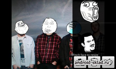 Rage Face Photo - тролль лица на фото для Android
