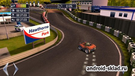 Hawthorne Park THD - гонки на мини машинках для Android