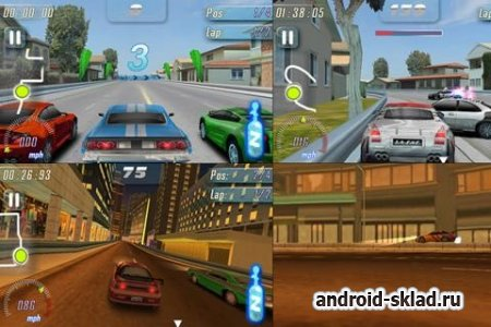 Fast Furious Adrenaline HD - ������� ����� ��� Android
