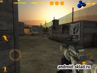 XFPaintball - пейнтболл для Android