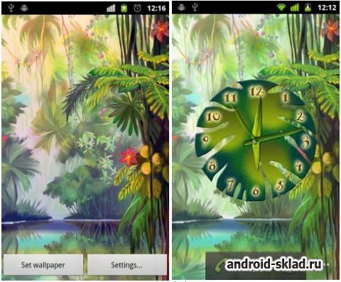 Luminescent Jungle - ����� ���� � ��������� ��� Android