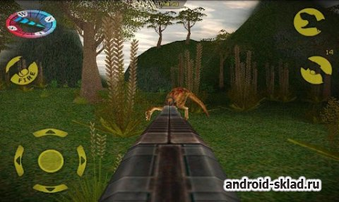 Carnivores Dinosaur Hunter HD - охота на динозавров для Android