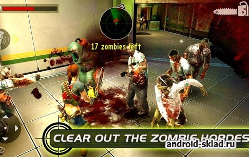 Contract killer zombies 2 - продолжние борьбы с зомби на Android