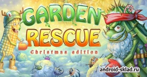 Garden Rescue Christmas - спасатели сада для Android
