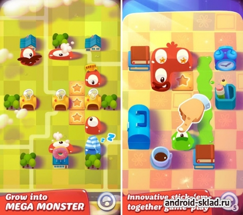 Pudding Monsters HD - долгожданная головоломка для Android