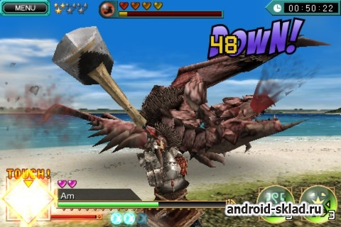 DH Monster Hunter Dynamic Hunting - аркада с мультиплеером для Android