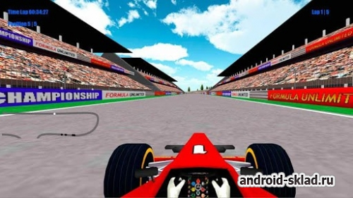 Formula Unlimited Racing - гонки на боллидах для Android