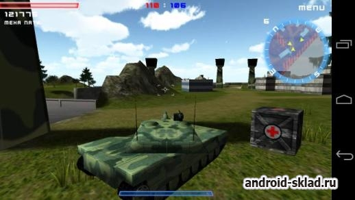 Tanktastic - подобие World of Tanks для Android