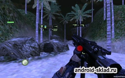 Crysis War for The Earth - шутер от первого лица для Android