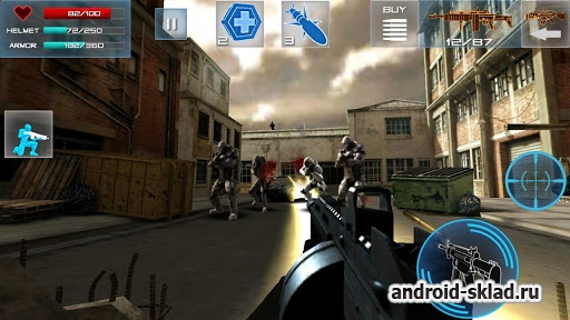 Enemy Strike - ��������� 3D ����� �� Android