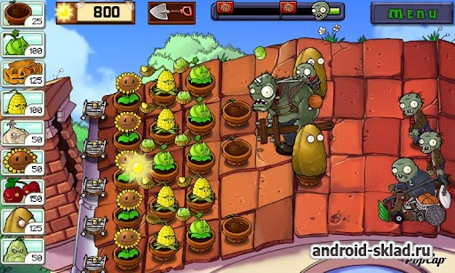 Plants vs. Zombies (Русская версия) для Android