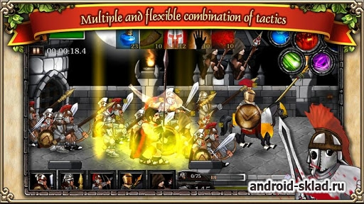 Spartans vs Zombies defense - ��������� ������ ����� �� Android