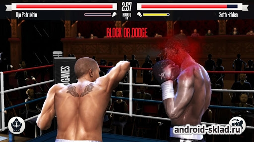 Real Boxing - ������ ��������� ����� ��� Android