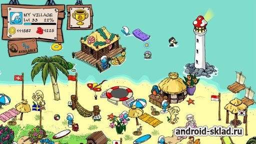 Smurfs Village - ��������� � �������� ��� Android