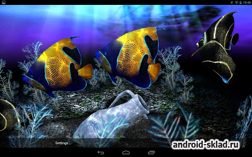 My 3D Fish II - ����� ���� � ���������� ��� Android