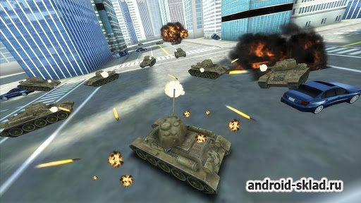 GTA Tank vs New York - танки в Нью Йорке