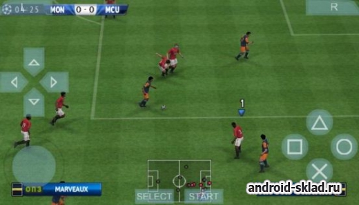 PES 2013 - ������������ ������ � PSP ������ �� Android