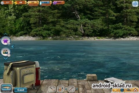 Fishing Paradise 3D - симулятор рыбалки для Android