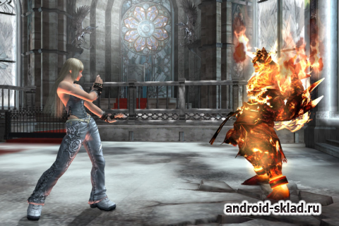 Tekken 5 Dark Resurrection - крутые драки на Android