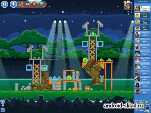 Angry Birds Friends для Android пришла с Фейсбука