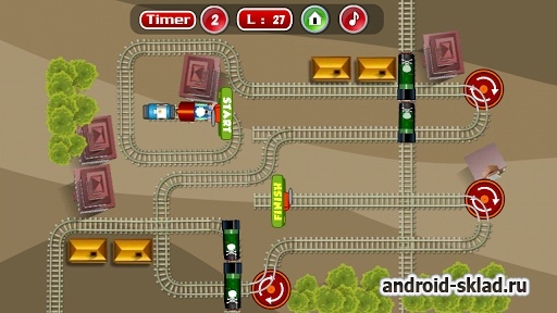 Express Train New Puzzle Games - �������� ������ ������� �� �������