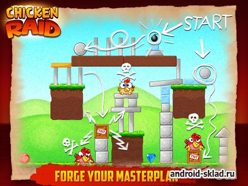 Chicken Raid - ������� ����� �� Android