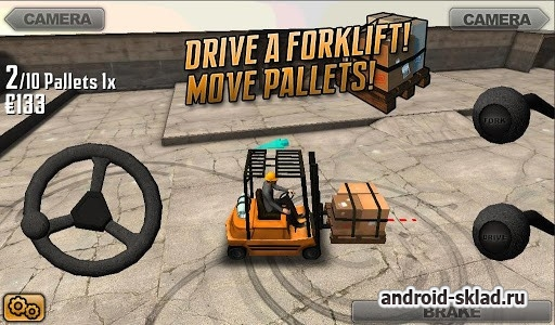 Extreme Forklifting - симулятор погрузчика на Android