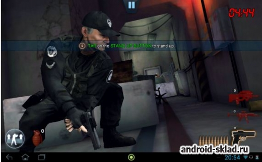 Stargate SG-1 Unleashed Ep 1 - интерактивный экшн для Android