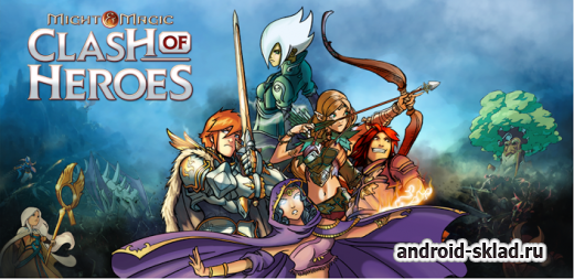 Might & Magic Clash of Heroes - РПГ для Android
