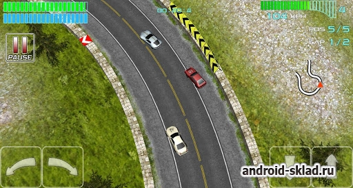 Alpha Wheels Racing - мини гонки для Android
