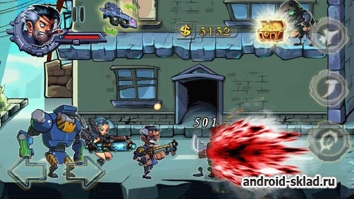 Blood Shoot Death Sniper - динамичный 2D шутер для Android