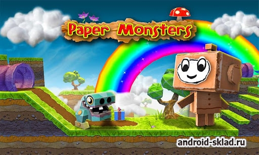 Paper Monsters - мир из бумаги и картона на Android