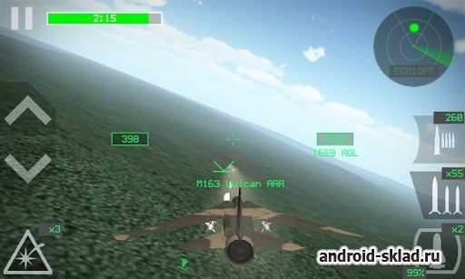 Strike Fighters Attack - холодная война в воздухе на Android
