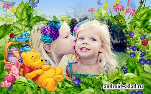 Funny Kids Photo Frames - фоторамки для Android