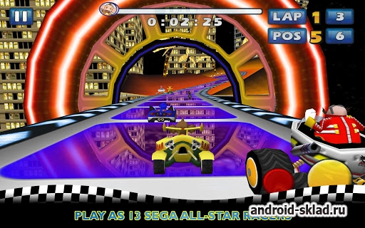 Sonic & SEGA All-Stars Racing - ����� �� ���������� ������