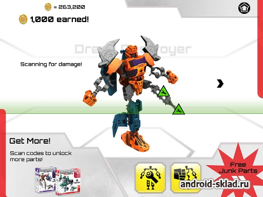 Transformers Construct Bots - ����������� ������������� ��� Android