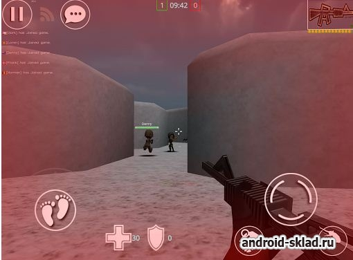 Mini CS - MultiPlayer FPS - шутер в стиле Контрал Страйк
