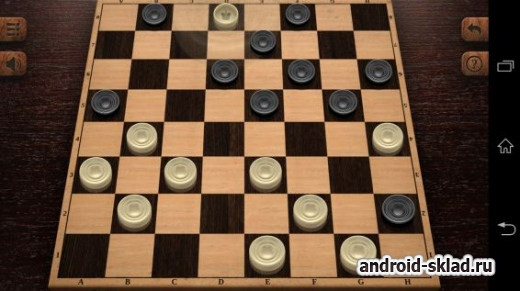 Checkers HD - шашки для Android