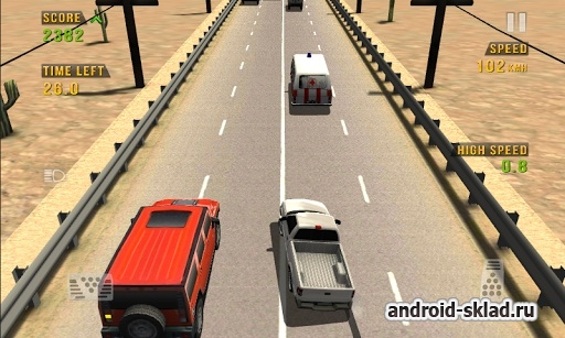 Traffic Racer - аркадные гонки для Android