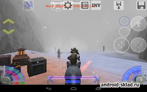 Jedi Academy Touch - �������� ������� �� Android