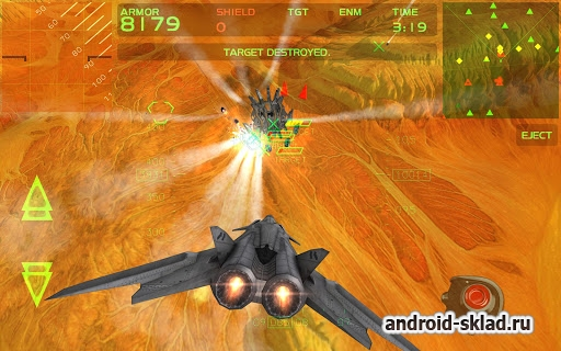Fractal Combat X - ��������������� ������ ����� �� Android