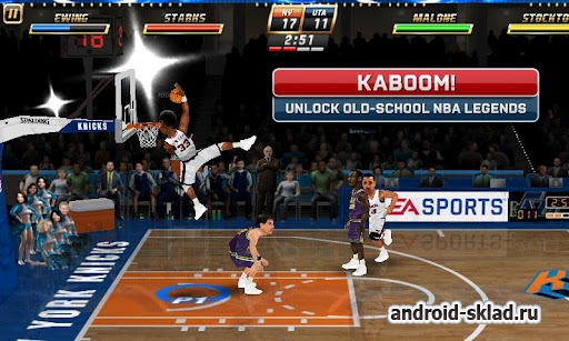 NBA JAM by EA SPORTS - баскетбольная аркада два на два для Android