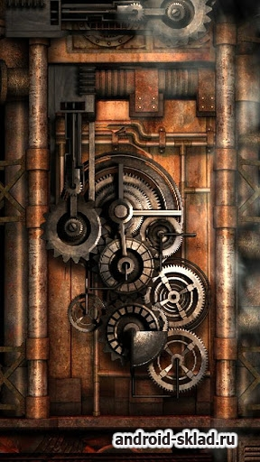 Steampunk Live Wallpaper Gears Pro - живые обои