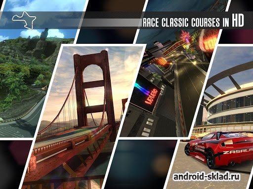 Ridge Racer Slipstream - аркадные гонки с приставок теперь на Android